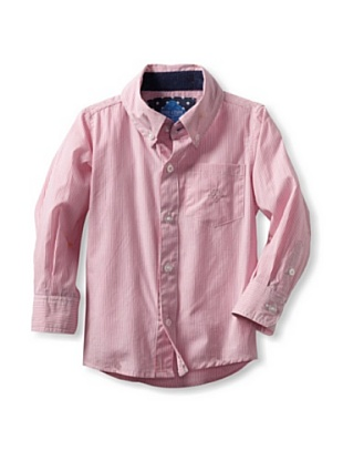 Andy & Evan Boy's 2-7 Stars and Stripes Shirt (Pink)