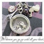 Floating Locket-Personalized valentine Day Gift