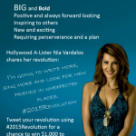 2015Revolution with Special K and Nia Vardalos