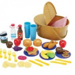 Pretend Play Picnic Basket