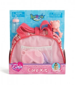 Cozy Cutie Lil Doll Care Kit