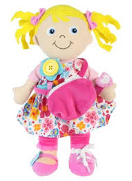 Learn-To-Dress Activity Doll
