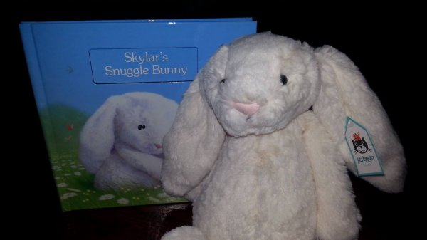 personalized books snuggle bunny.