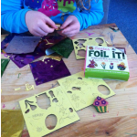 Foam sticker Easter activity kit