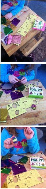 Easter Foil It! (foam sticker activity kit)