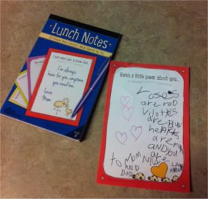 lunch notes :: from your heart to your child's lunchbox