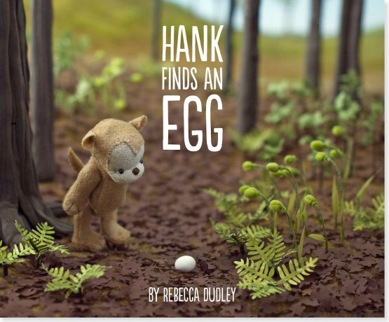 Hank Finds an Egg (Picture book)