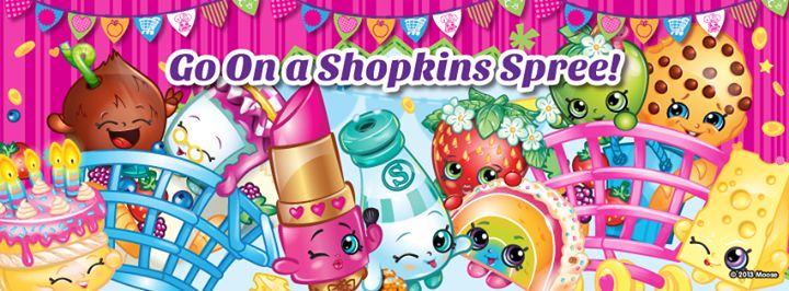 Go on a shopkins spree