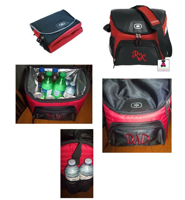 Monogrammed Insulated Deluxe 18-24 Can Cooler