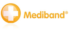 Mediband® 'medical ID alert' bracelets