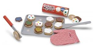 Melissa & Doug Wooden Slice and Bake Cookie Se