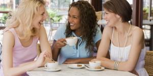 Women talking marriage