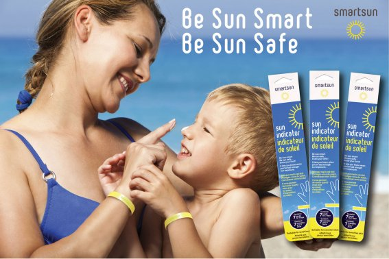 Smartsun UV Indicator Wristbands Help Canadians Enjoy Sun More Responsibly