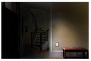 GE Enbrighten® Plug In, Motion Sensing LED Light Bar with Brushed Nickel Finish