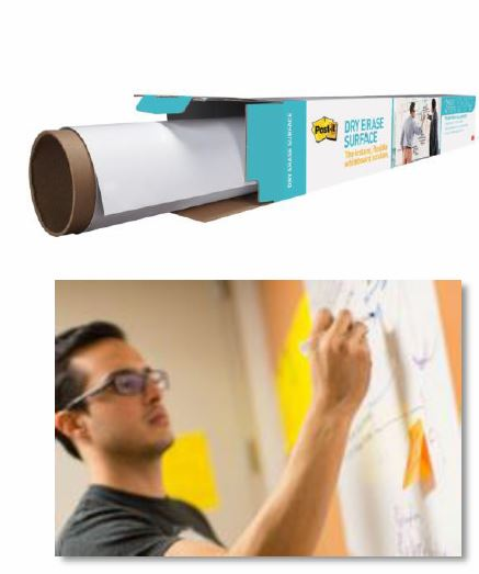 Post-it® Dry Erase Surface