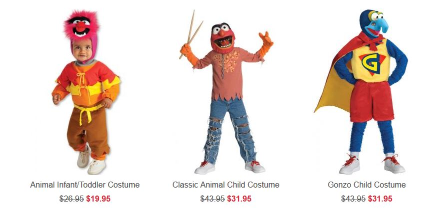 Costumes Clearance