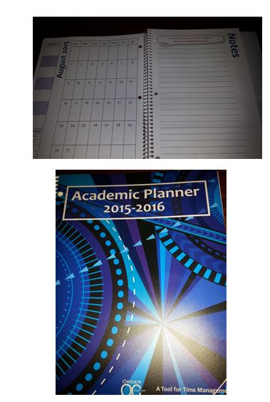 2015-2016 Student Planner - A Tool For Time Management
