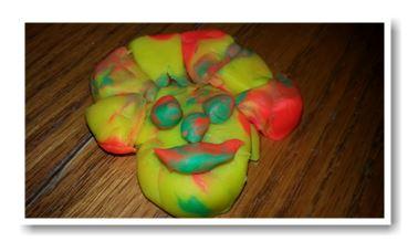 playdoh clown