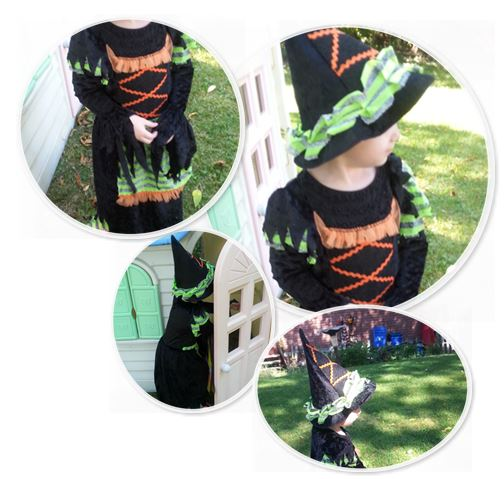 Infant & Toddler Witch Costumes