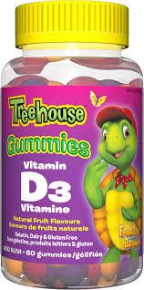Treehouse gummy vitamins for kids