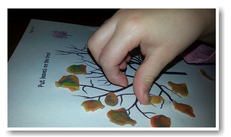 Fall play doh crafts