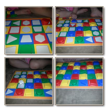 Learning Shapes & Colors Game