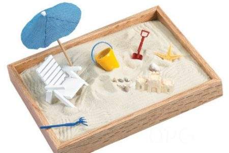 Miniature sandbox