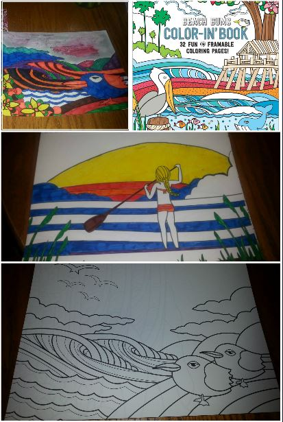 Coloring Book!!! Artwork by Joe Vickers