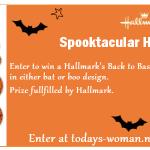 Hallmark Halloween Giveaway