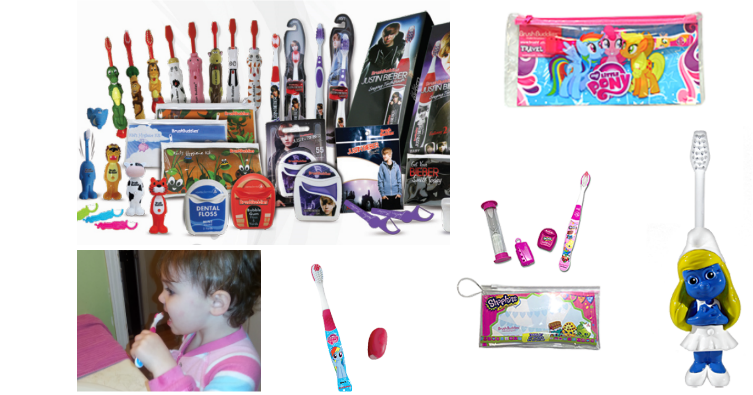 Brush buddies Teeth-friendly stocking stuffers