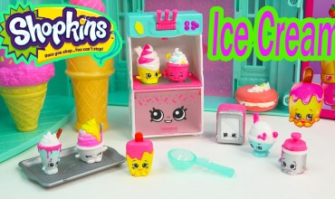 Shopkins ice cream parlour review