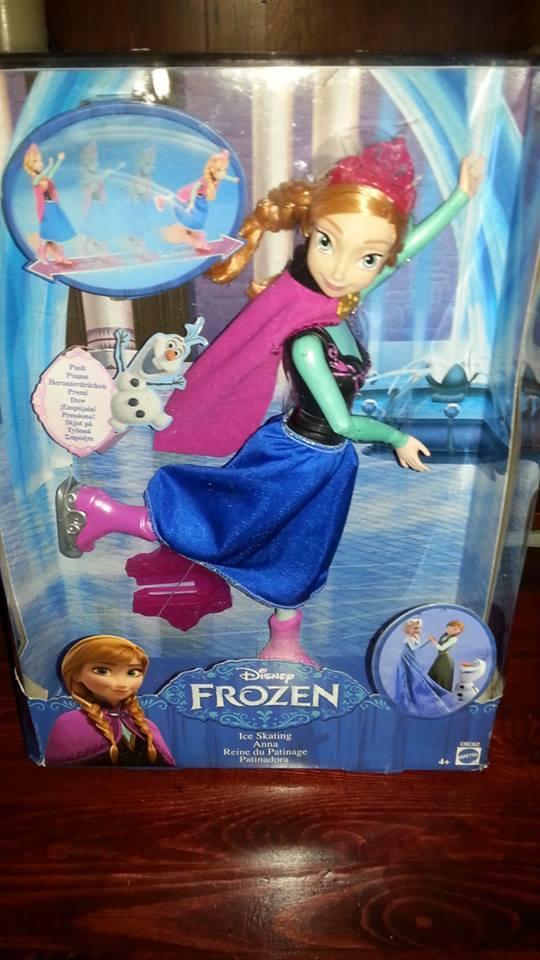 Ice Skating Anna Doll Disney Frozen