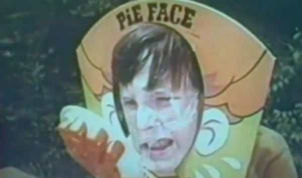 1960's Hasbro Pie Face game
