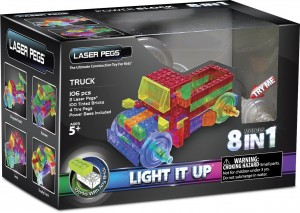 Light up truck