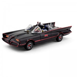 "10"" Batmobile with Bendable Figures - Classic TV Series"