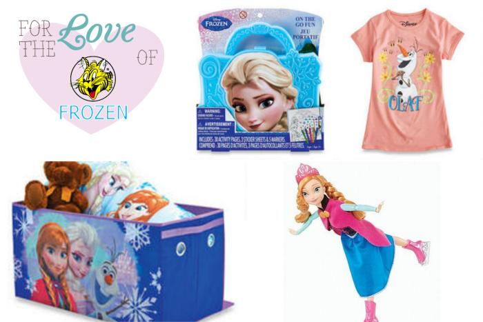 Disney's Frozen Merchandise