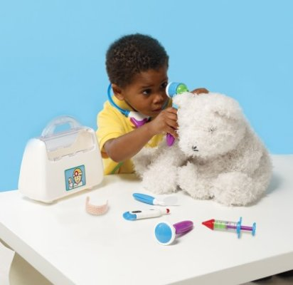 Toy doctor kit for pretend play