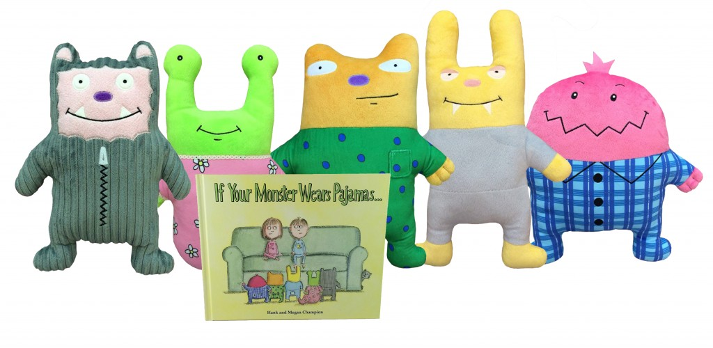 Pajama Monsters – Helping kids to not be afraid of the dark