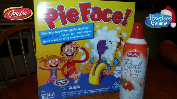 Hasbro Gaming's PIE FACE