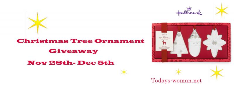 Hallmark Ornament Giveaway