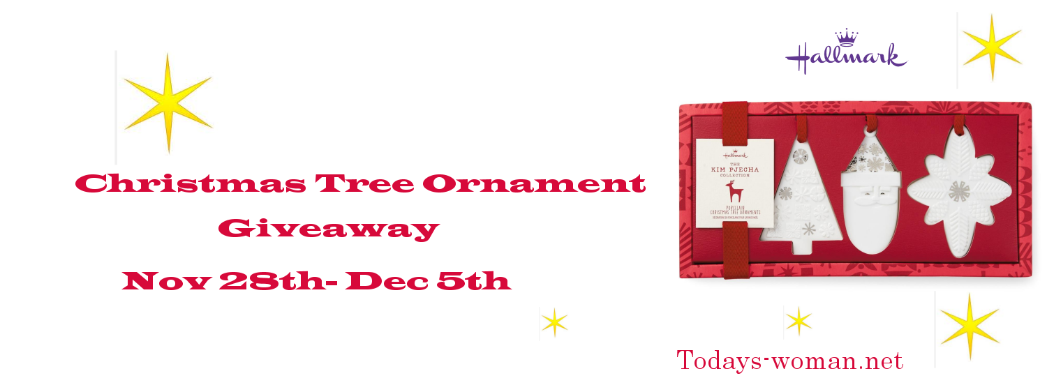 Hallmark Ornament Giveaway
