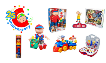 Caillou Toys import dragon