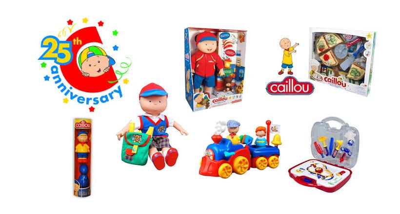 Caillou Toys