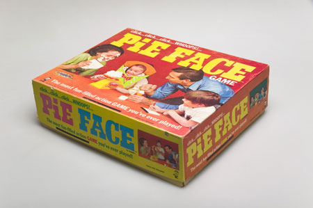 Hasbro Pie Face Game 1968