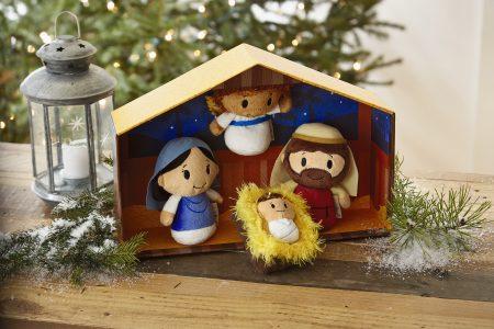 Itty Bitty Nativity Scene