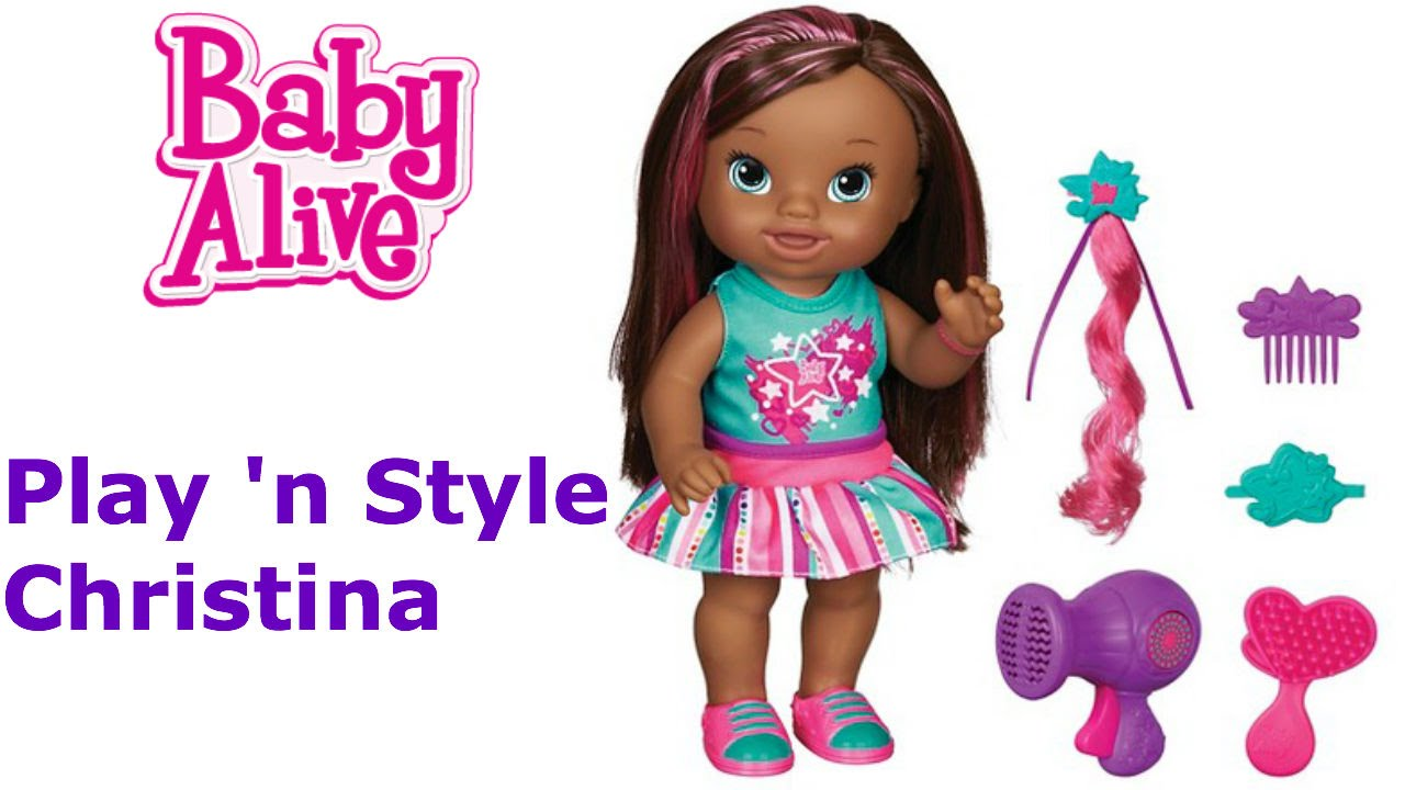 Baby Alive Play N Style Christina Today S Woman