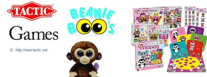 TY Beanie Boo Games from Tactic Games