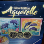 Aquarelle Glow watercolor painting kit