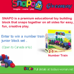 Snapo building blocks giveaway