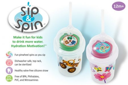 nuSpin Kids Sip & Spin and Zoomi Cup